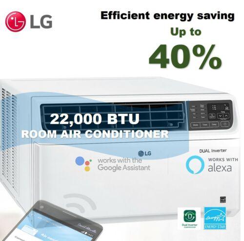 LG LW2217IVSM - 22,000 BTU 220V DUAL Inverter Smart Wi-Fi Enabled Window A/C