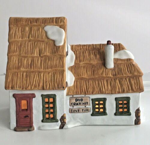 Dept 56 Dickens Village Series COTTAGE OF BOB CRATCHIT & TINY TIM  1986 6500-5