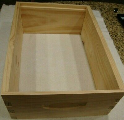 New Bee Hive Box - Medium 8 Frame Brood Honey Super 6 58 Deep - Fast Shipping