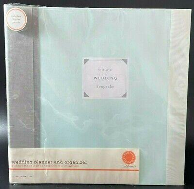 NEW Bride's Wedding Planner & Organizer Binder Book by Martha Stewart