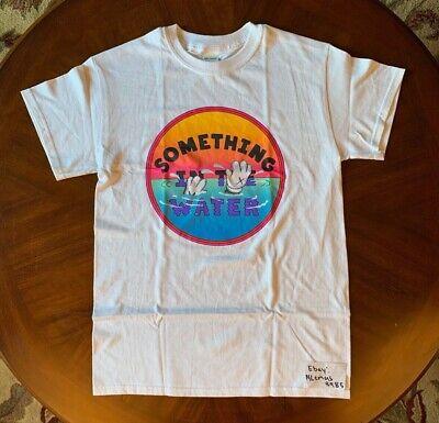 Kaws Pharrell Something in the Water T-Shirt Rare Small