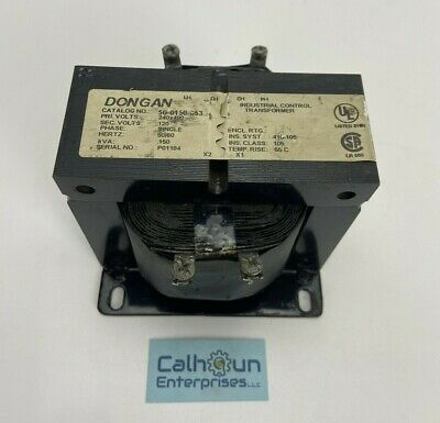 Dongan Industrial Control Transformer 50-0150-053 120v 5060hz .150kva Warranty