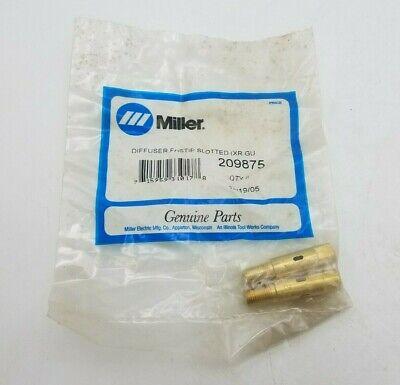 2 Pc Miller 209875 Diffuser Fastip Slotted Xr Gun Welding Equipment Replacement