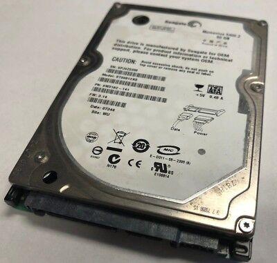 Laptop 60GB SATA Internal HARD DRIVE Tested Good 60-GB 5400RPM 2.5
