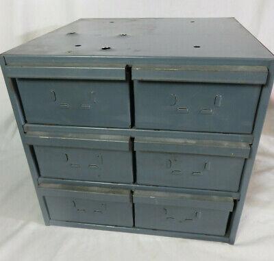 Metal Industrial 6 Drawer Metal Parts Cabinet