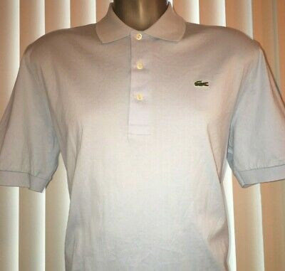 NWOT Lacoste Men's Polo Shirt in Rill Light Blue (T01) Size 5 (Medium) Regular