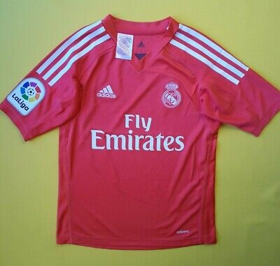 a0b2f3e62 4.9 5 Real Madrid kids jersey 9-10 years 2018 shirt B31085 Adidas soccer  ig93