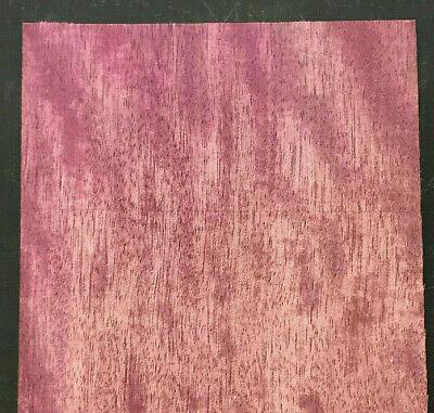 Purpleheart Wood Veneer Sheet 7 X 21 Inches 142nd Thick  87685-43
