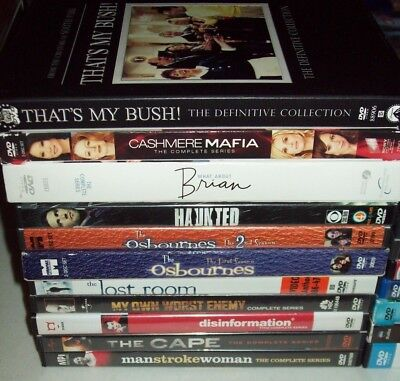 Lot Of 20 Complete TV Series Seasons Dvd Sets Very Good Lot And FREE SHIPPING