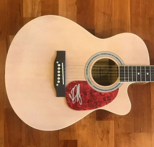 * DALLAS GREEN * signed acoustic guitar * CITY & COLOUR * ALEXISONFIRE * 1