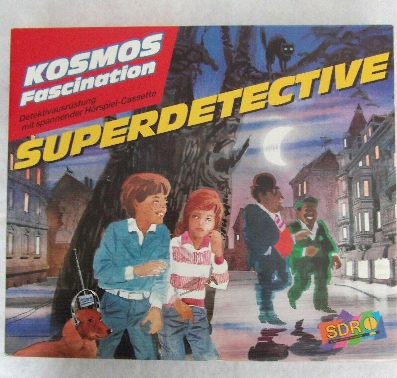 Kosmos Fascination Detektivausrüstung ( Superdetective ) 1991 Franckh-Kosmos