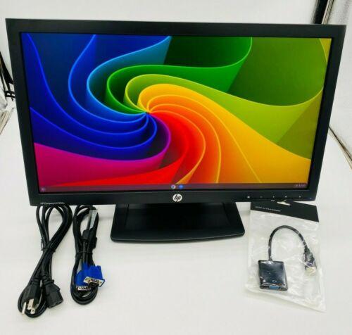 """HP Compaq 22"""" inch LCD Widescreen Monitor 1080P HD VGA HDMI LA2206X W/ Stand USA"""