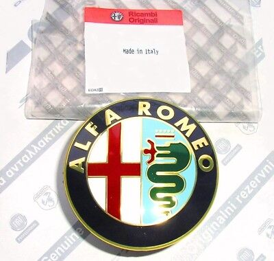 ALFA ROMEO GTV & SPIDER 1995 > 2004 916 series New Rear Boot Trunk Badge Emblem