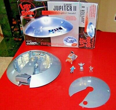 LOST IN SPACE JUPITER II 2 Trendmaster's Playset Very Collectible B-9 Robot Will
