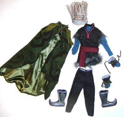 Disney Fashion Signature Frozen Kristoff Costume For Ken Dolls dl01 limited Ed. - Kristoff Frozen Costume