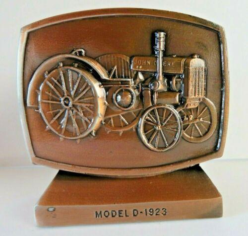 Vintage 1981 John Deere Employees Credit Union Bank Model D-1923 Tractor #1328