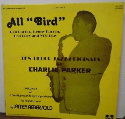 Al Bird Ten Bebop Jazz originals by Charlie Parker vinyl JA-1215   061718LLE