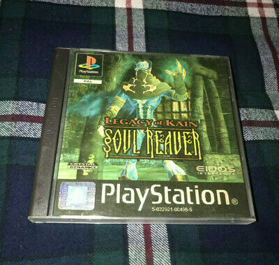 Legacy Of Kain Soul Reaver PS1 PlayStation 1 Pal Vintage Very Good Condition