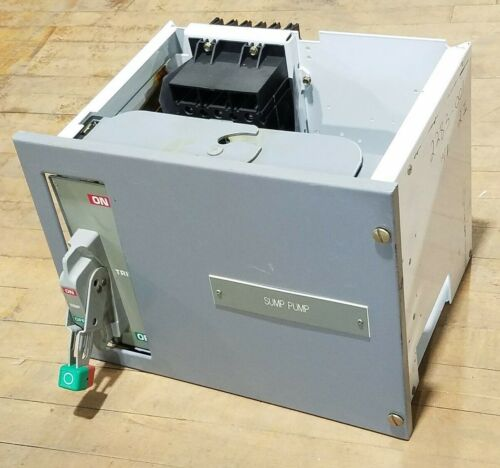Square D 12112283-001.002 Motor Control Center MCC Bucket 30A 480V 3PH FCP34030