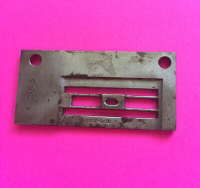 Nos 303507-0-10-rimoldi-throat Plate For Sewing Machine Free Shipping