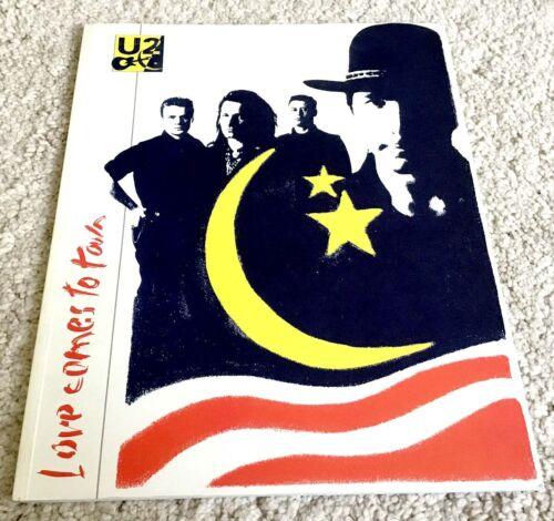 U2 Love Comes To Town Tour 89 Concert Program Book English Edition