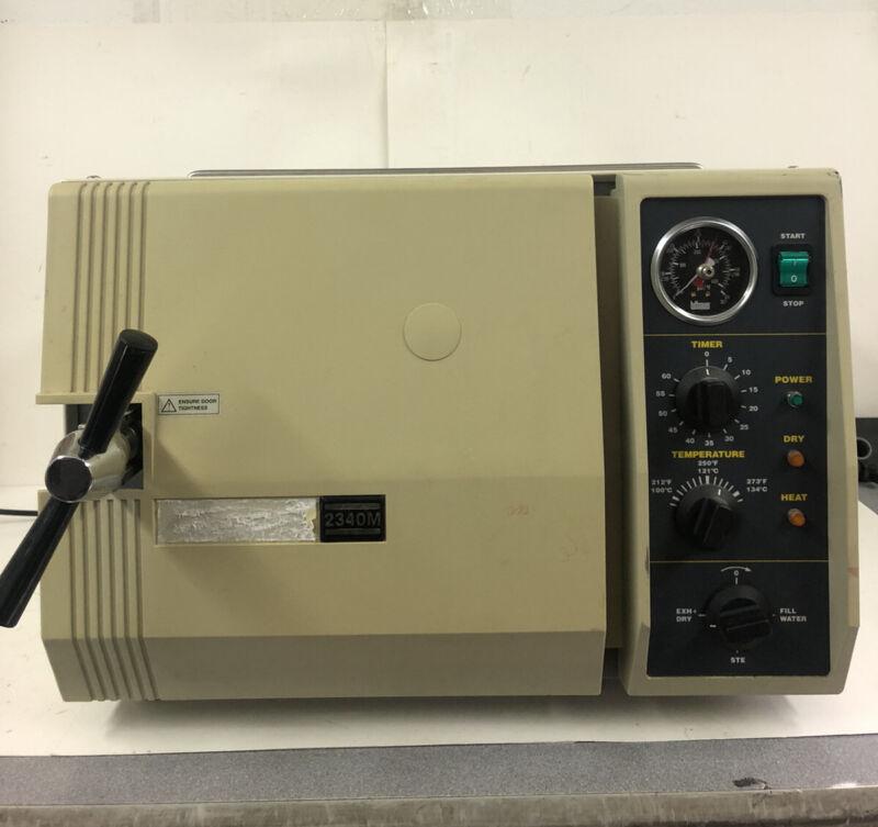 Tuttnauer 2340M Dental Medical Autoclave Sterilizer Instrument Sterilizing Unit