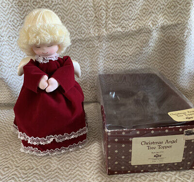 Vintage Russ Christmas Angel Tree Topper