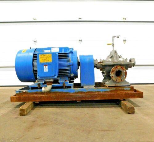 MO-4223, FLOWSERVE 4LR-11A/9.88 SF PUMP W/ 150 HP MOTOR. 575 V. 3 PH. 3575 RPM.