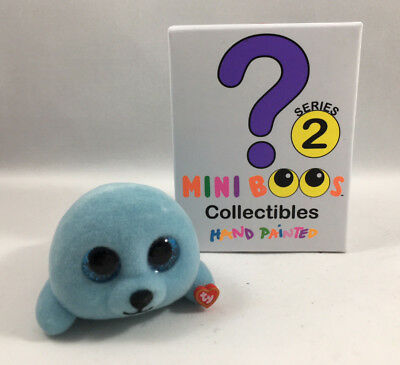 2018 TY Beanie Boos Mini Boo SERIES 2 Collectible Figure SQUIRT Seal (2 inch)