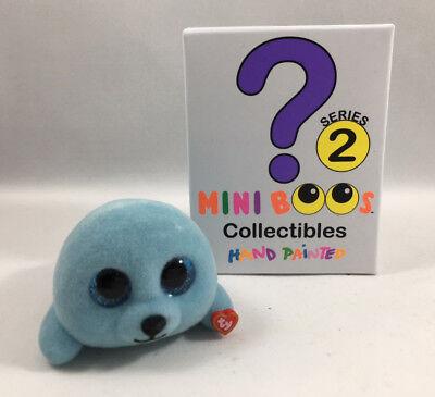 2018 Ty Beanie Boos Mini Boo Series 2 Collectible Figure Squirt Seal  2 Inch
