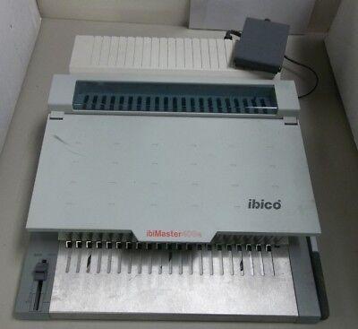 Ibimaster 400e Ibico Electric Binding Machine W Paper Punch Foot Pedal