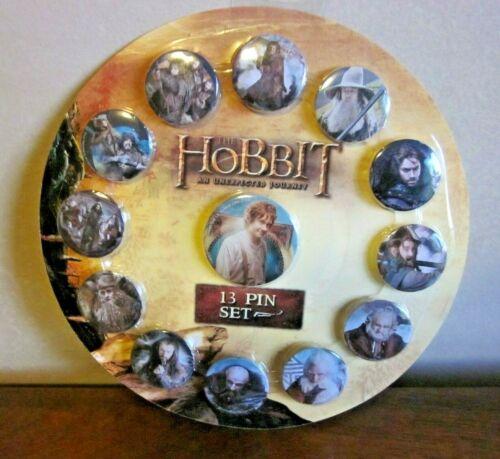 NECA THE HOBBIT set of 13 pins sealed. BRAND NEW!