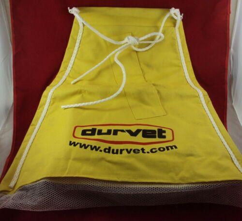 Durvet Cattle Dust Bag Yellow