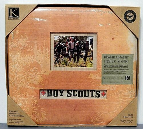 K & Company Boy Scouts Of America 12 X 12 Scrapbook Photo Album 20 Pages