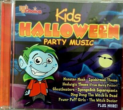 DJ's Choice KIDS HALLOWEEN PARTY MUSIC: HOLIDAY SONGS MONSTER MASH & MORE! OOP! - Kids Halloween Song Monster Mash