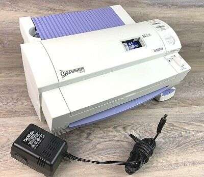 Brother Lx-900 Cool Laminator A6-a4 4.8-9.0 Laminating Machine Tested