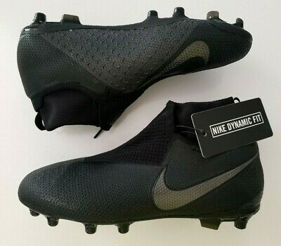 a6d58cbbb NIKE PHANTOM VISION ELITE DF FG GS  Black  Boy s Cleats AO3289 001 Size 4.5Y