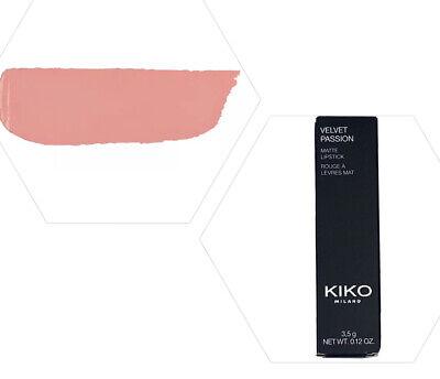 Kiko Velvet Passion Creamy Matte Lipstick #326 Natural Rose New