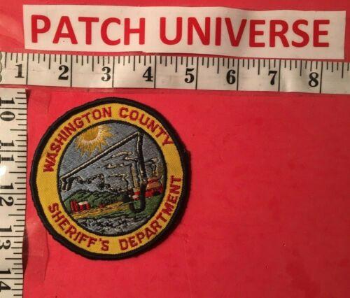 WASHINGTON COUNTY MARYLAND SHERIFF  SHOULDER PATCH  M012