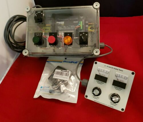 Automation Direct DL05 PLC TRAINER for Discrete & Analog Training.
