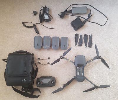 DJI Mavic Pro Drone - Fly More Combo Quatcopter Extra Batteries