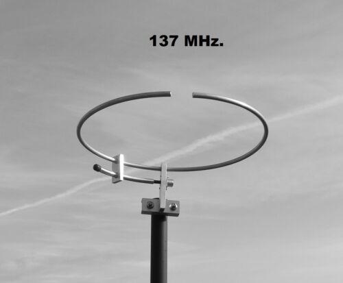 137 MHz, LOOP, ANTENNA, NOAA