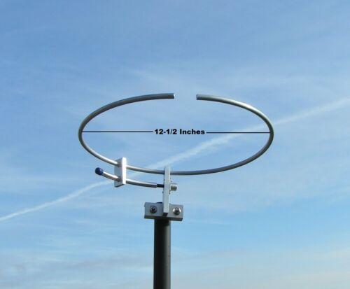 144 MHz, 2 METER, LOOP, ANTENNA, HAM RADIO