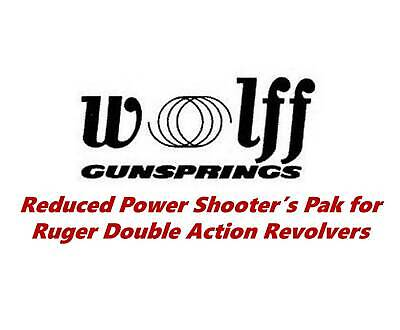 Wolff Reduced Power Spring Kit for Ruger Security Six, Speed