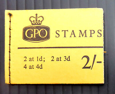 GB WILDING 2/- PHOSPHOR BOOKLETS MARCH 1968 N32p NEW SALE PRICE FP3149
