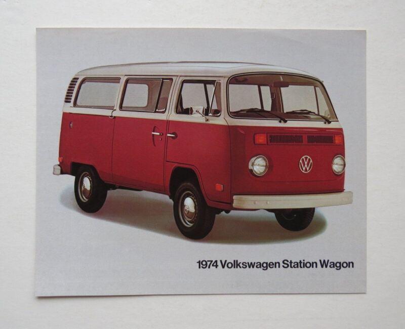 1974 Volkswagen Station Wagon Brochure