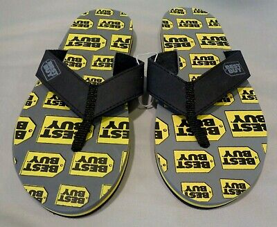 Neet Feet  MEN'S BEST BUY NEOPRENE SANDALS   FLIP-FLOP BLACK sz