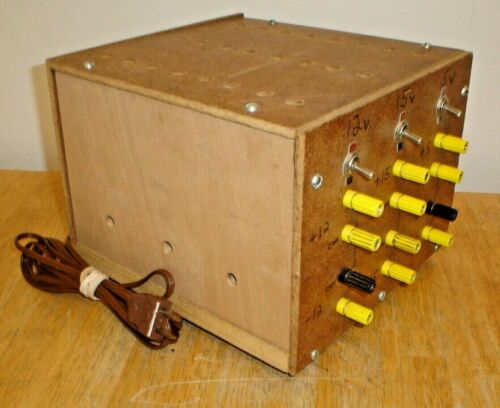 Power Supply Test Equipment Accessory - Hand Made Unit