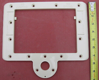 Doughboy 340-1274 Embassy almond beige pool Skimmer Faceplate Face Plate