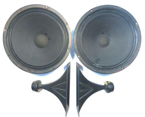 "SEEBURG STD2 JUKEBOX:  TESTED & WORKING ....  SPEAKER SYSTEM 2 - 12"" & 2 Horns"